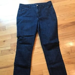 Coldwater Creek skinny jeans. Size 10